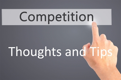Competition Thoughts and Tips when entering images for competition